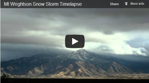 My jaw just dropped when I saw my first desert snowstorm [video]!