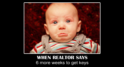 Art of a quick close… Getting keys to your new home