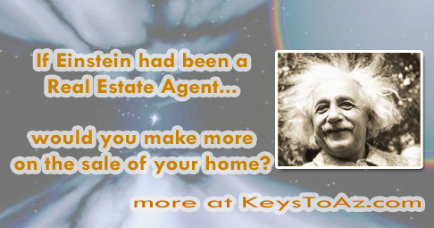Applying Einstein's theory of relativity to your home valuation