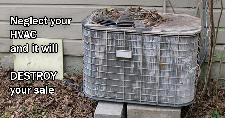 Broken air conditioner? Then no sale!