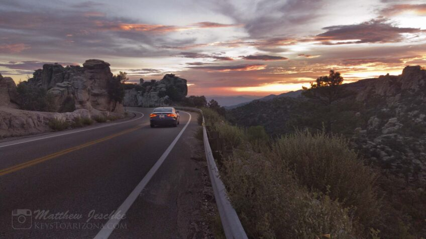 Take a Scenic Ride on Catalina State Highway