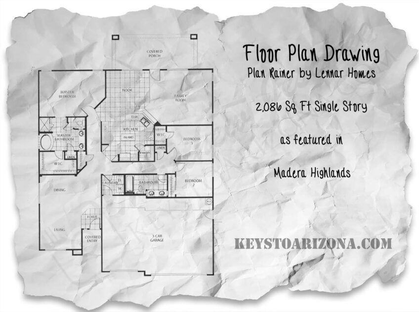 Madera Highlands Rainer Floor Plan